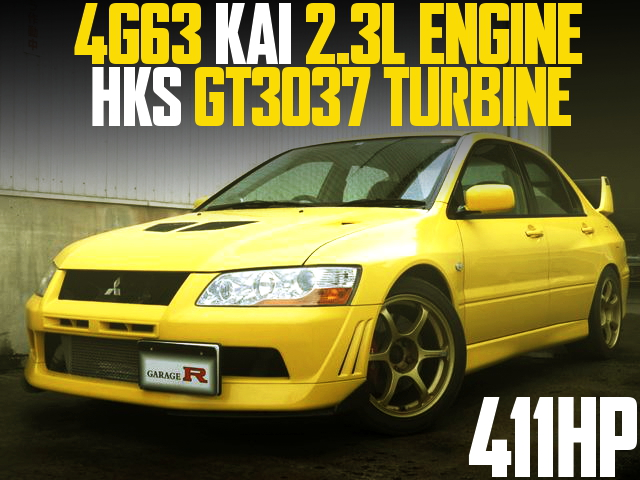 4G63 2300cc GT3037 TURBO CT9A EVO7