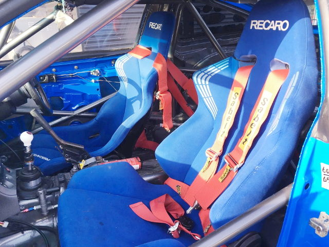 BLUE RECARO SEATS