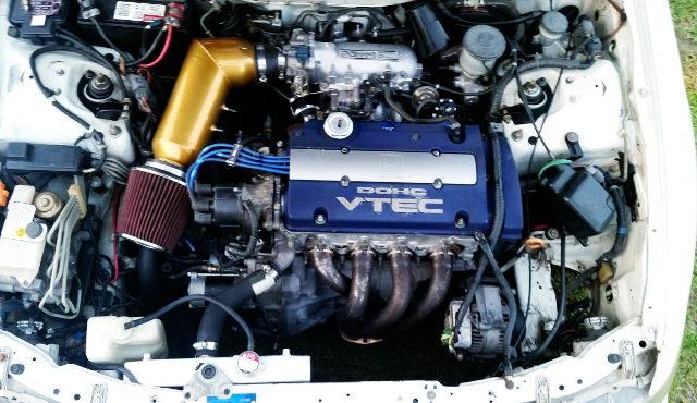 BLUE TOP H23A VTEC ENGINE