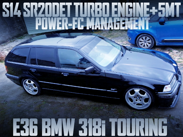 S14 SR20 TURBO 5MT E36 BMW TOURING