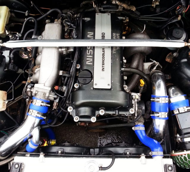 BLACK TOP SR20DET TURBO ENGINE
