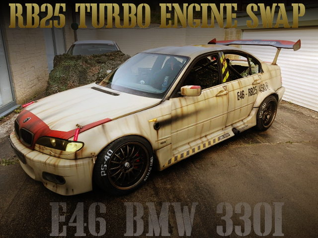 RB25DET SWAP E46 BMW 330i