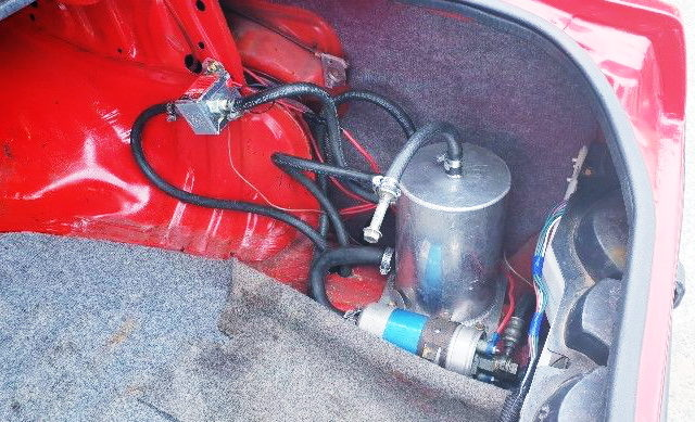 FUEL PUMP AND SURGE TANK