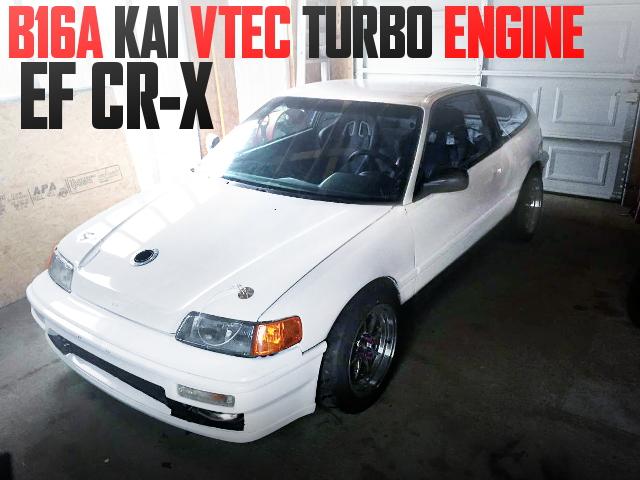 B16A KAI VTEC TURBO EF CRX