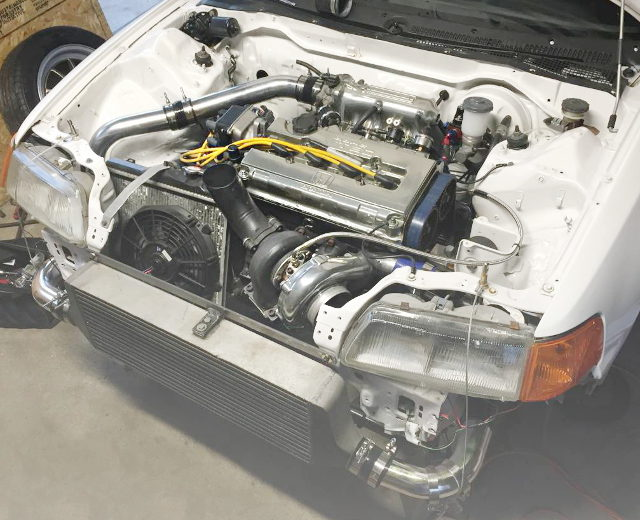 B16A VTEC TURBO ENGINE