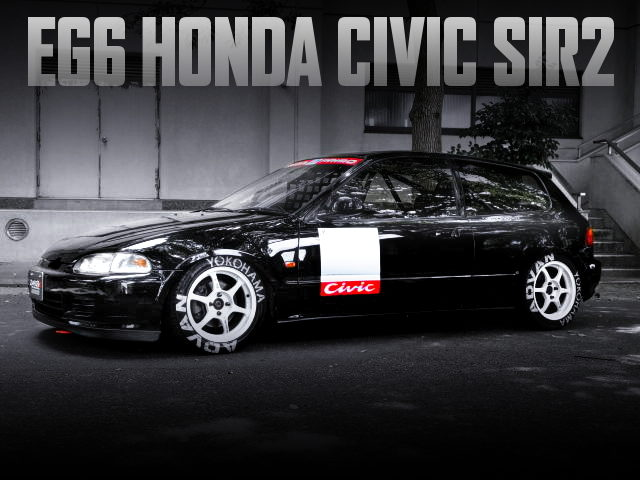 KANJO EG6 CIVIC SIR2 BLACK