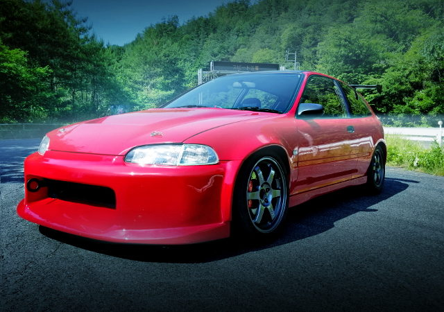 FRONT FACE EG6 CIVIC SIR1