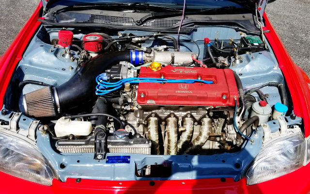TYPE-R B18C VTEC ENGINE