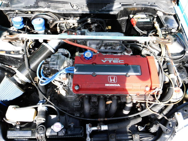 B18C VTEC ENGINE OF EG6 CIVIC