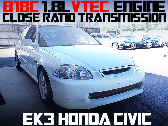 B18C VTEC SWAP EK3 CIVIC HATCH