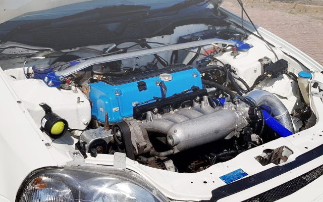 SPOON BLUE K20A iVTEC ENGINE