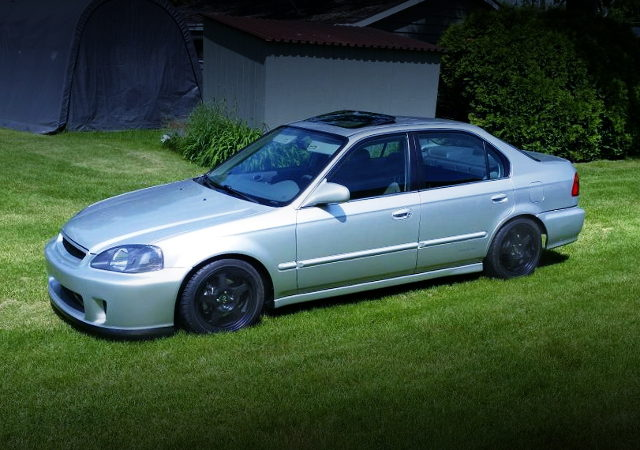 FRONT EK CIVIC SEDAN EX