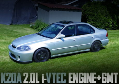 K20A 6MT EK CIVIC SEDAN EX
