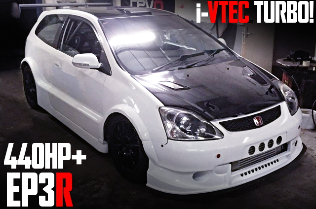 K20A iVTEC TURBO EP3 CIVIC TYPE-R