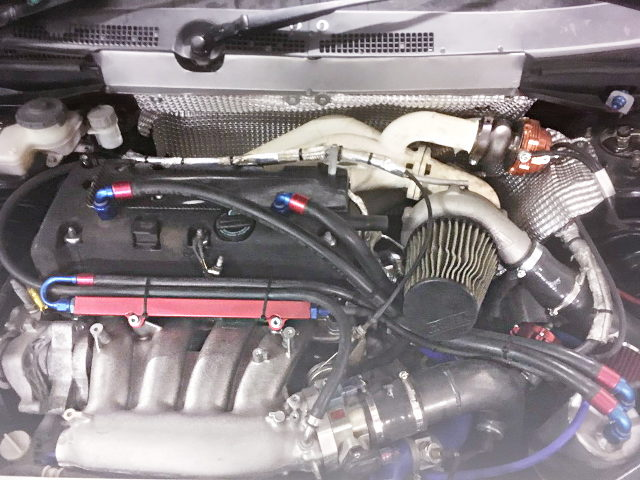 K20A i-VTEC TURBO ENGINE