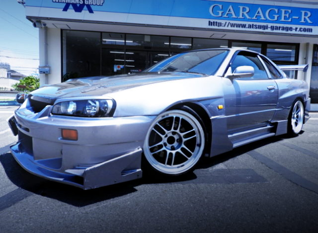 FRONT EXTERIOR ER34 SKYLINE WIDEBODY