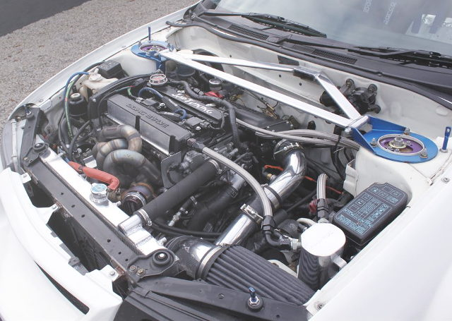 4G63T TURBO ENGINE