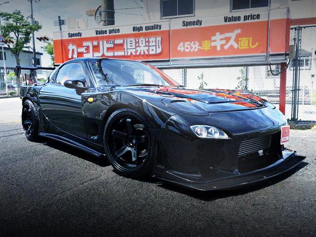 FRONT EXTERIOR FD3S RX-7 BLACK