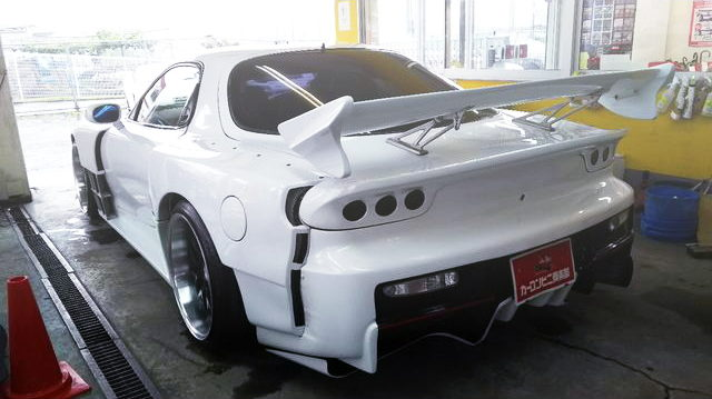 REAR TAIL LAMP FEAST WIDEBODY RX-7 WHITE