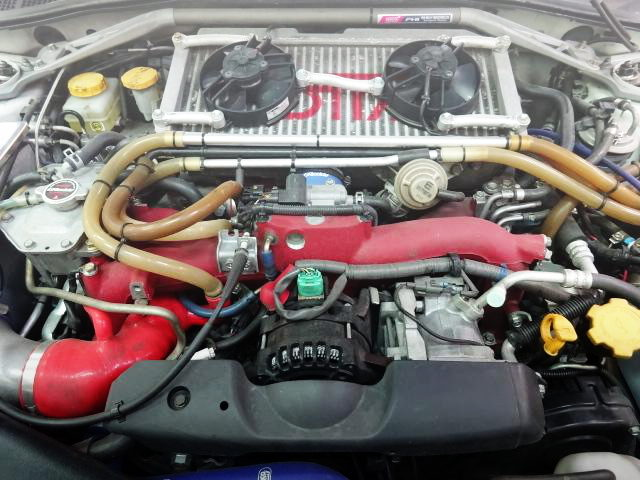 COSWORTH TUNING EJ25 BOXER ENGINE