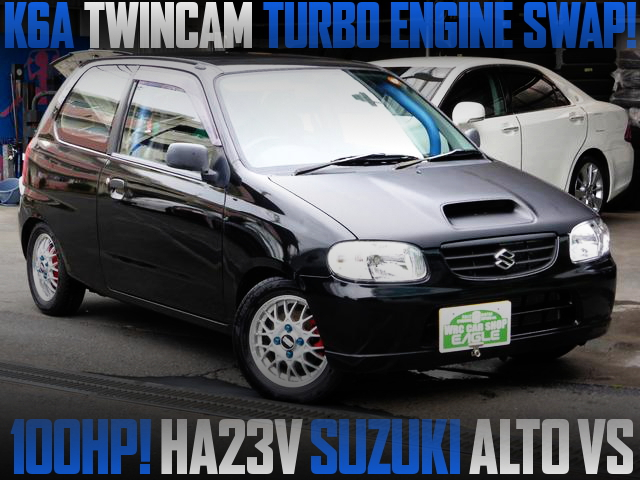 K6A TURBO SWAP HA23V ALTO VAN BLACK