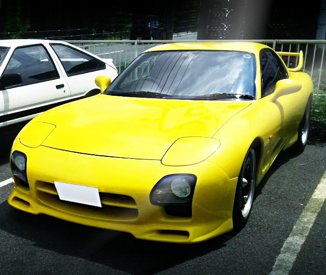 FRONT INITIALD REP FD3S RX7