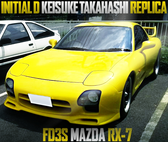 TAKAHASHI KEISUKE REP MAZDA RX7