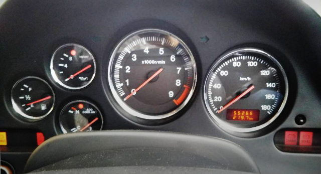 FD3S RX7 SPEED CLUSTER