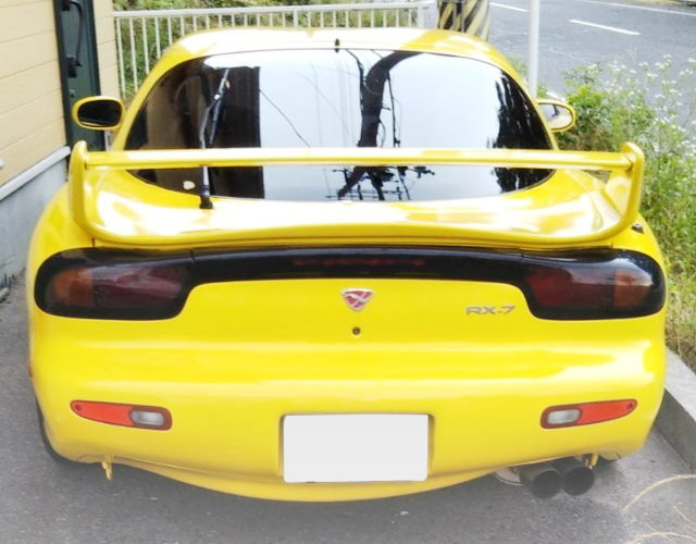 MAZDA SPEED REAR WING