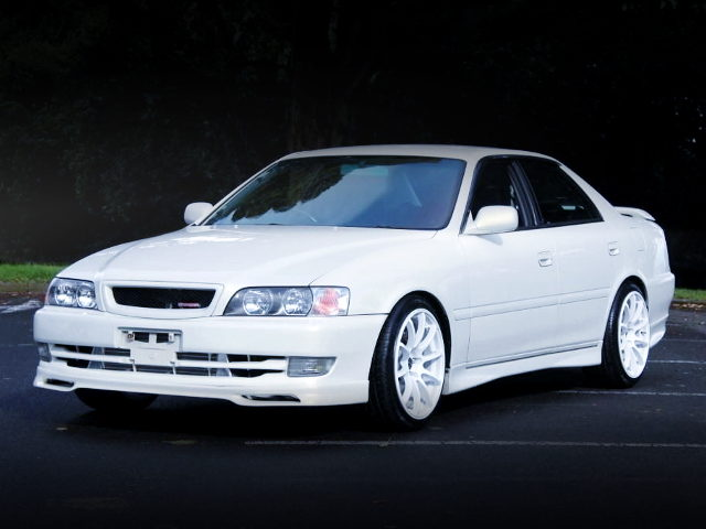 FRONT EXTERIOR JZX100 CHASER WHITE