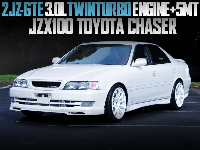 2JZ-GTE TWINTURBO JZX100 CHASER