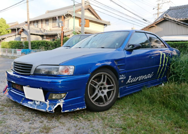 FRONT DRIFT JZX100 CHASER BLUE