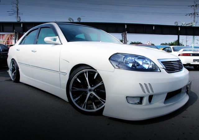 FRONT EXTERIOR JZX110 MARK2 WHITE