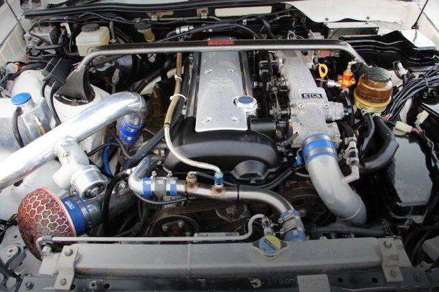 VVTI 1JZ-GTE ENGINE OF JZX110