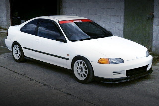 FRONT EXTERIOR EJ2 CIVIC WHITE