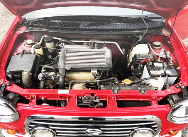JB 660cc TWINCAM INTERCOOLER TURBO ENGINE