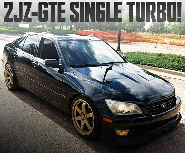 2JZ-GTE SINGLE TURBO LEXUS IS300