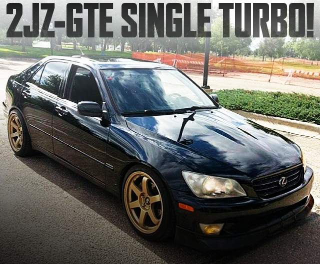 2JZ-GTE SINGLE TURBO LEXUS IS300