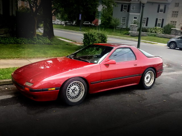 FRONT EXTERIOR FC3S RX7 RED