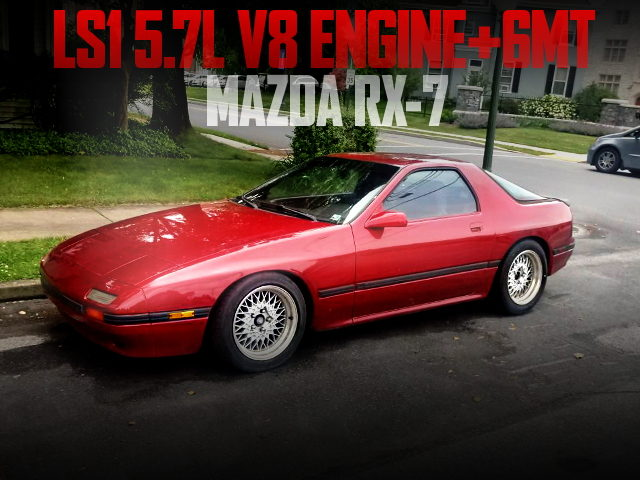LS1 V8 ENGINE 6MT FC RX7