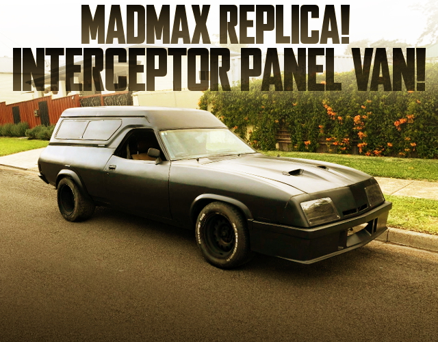 MADMAX INTERCEPTOR PANEL VAN