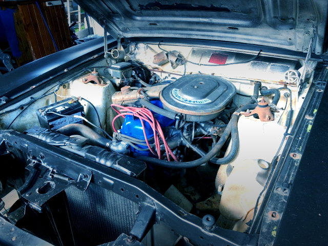 FALCON XC PANEL VAN ENGINE