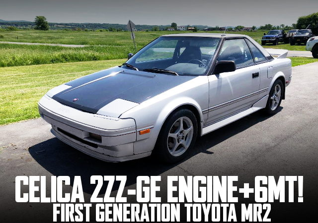 2ZZ-GE 6MT AW11 MR2