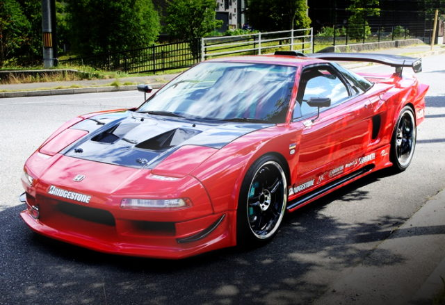 FRONT EXTERIOR WIDEBODY NA2 NSX RED
