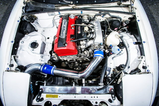 F20C VTEC ENGINE ON THE MIATA