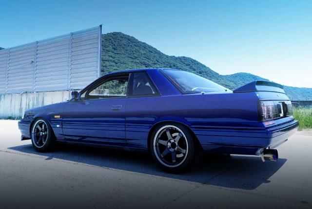 REAR EXTERIOR R31 GTS-R BLUE