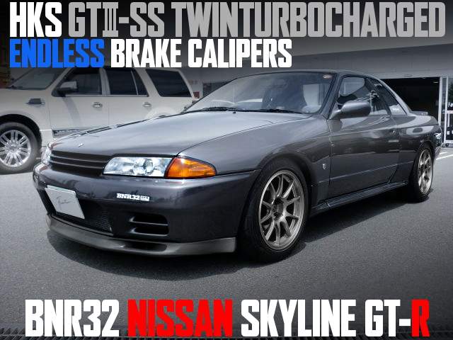 HKS GT3-SS TWINTURBO R32 GT-R