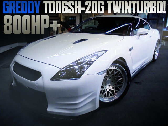 TD06SH-20G TWINTURBO 800HP R35GTR