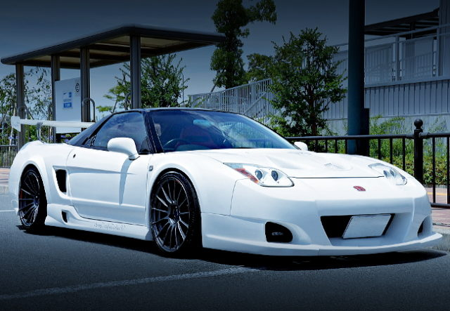 FRONT 02 HEAD LIGHT NA1 NSX WHITE