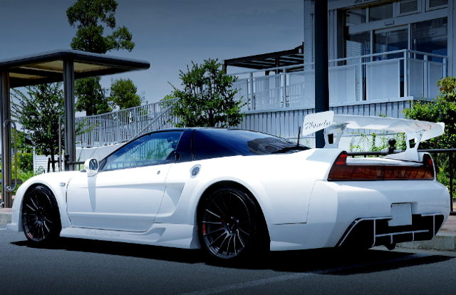 REAR EXTERIOR NA1 NSX WIDEBODY
